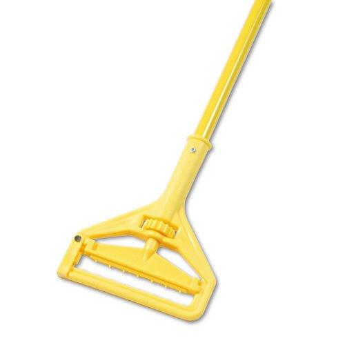 Plastic Head Quick Change Mop - Unisan UNS 620 Quick Change Side-Latch Plastic Mop Aluminum Handle, 15/16