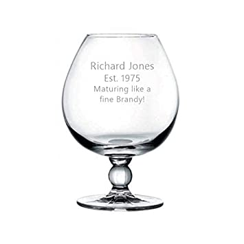 Personalised Engraved Beer Pint Glass Tankard 60th 70th 80th Birthday Gift Boxed