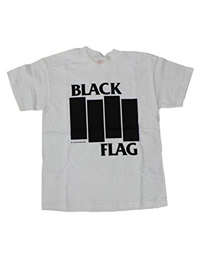 Black Flag Bars and Logo T-shirt (Bar Logo Tee)