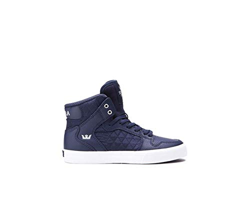 uomo Leather White Sneaker Skytop Supra Midnight S18091 FxqvfUWw0