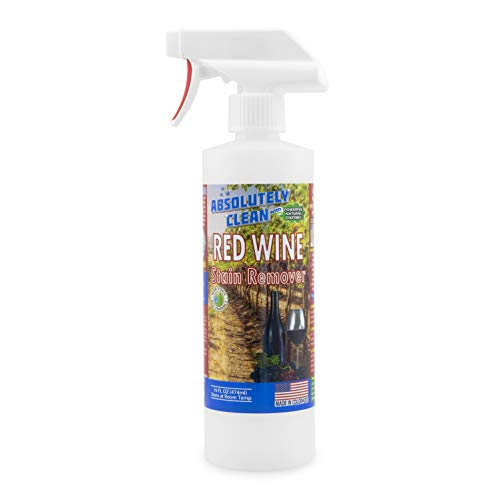 Amazing RED Wine Stain Remover (USA Made): Best Stain Remover for Red Wine Stains - Natural Enzymes Clean Even The Toughest Red Wine Stains, Works on Clothes, Furniture, Carpet & Even Leather (Best Wine Stain Remover)