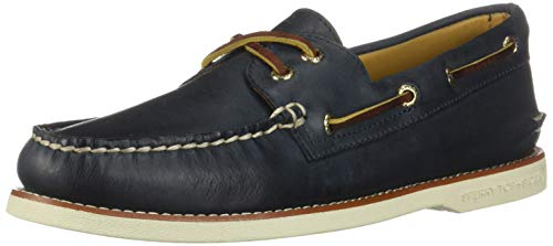 - Sperry Top-Sider Gold Cup Authentic Original Boat Shoe Men 9 Navy