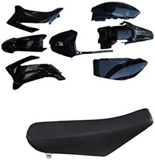 TTR110 TTR 110 PLASTICS FENDER KIT TALL SEAT for YAMAHA BLACK US SELLER