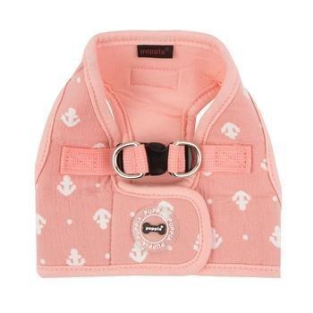 Puppia PARA-HB1531-PK-L Pink Ernest Harness B Pet-Vest-Harnesses, Large