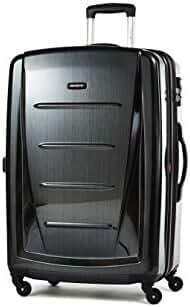 Samsonite Winfield 2 Fashion Hardside 28 Spinner, Black, One Size