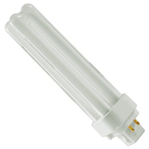 GE 97601 - F18DBX/841/ECO4P - 18 Watt Quad-Tube Compact Fluorescent Light Bulb, 4 Pin, 4100K (Quad Compact Fluorescent Bulb)