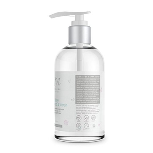Baby Shampoo and Wash by Marama Naturals - Gentle Chamomile and Lavender Scented Wash for Baby's Sensitive Skin by Marama Naturals (Image #1)'
