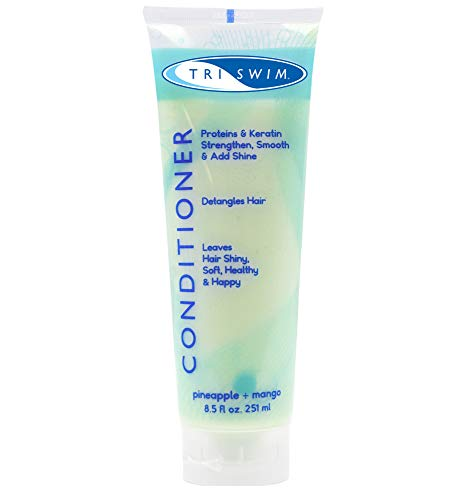 TRISWIM Chlorine Clarifying Swimmers Conditioner Moisturizing Hair Repair (Best Supermarket Shampoo For Coloured Hair)