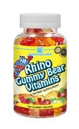 - Rhino Gummy Bear Vitamin Chewable - 190 per pack - 3 packs per case.