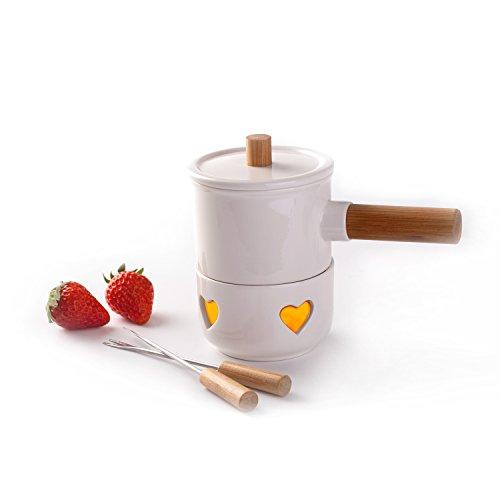 heart fondue set - 4