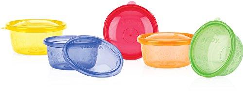 Nuby Wash Bowls Ounce Colors