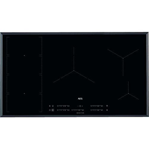 Vitro AEG IKE95471FB 90cm 5f Inducción Flex: Amazon.es ...