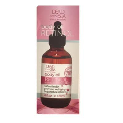body oil RETINOL anti_oxidant, strengthen - Dead Sea Collection