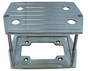 Taylor 48240 Billet Aluminum Battery Tray 35/D35 Optima, 1 Pack