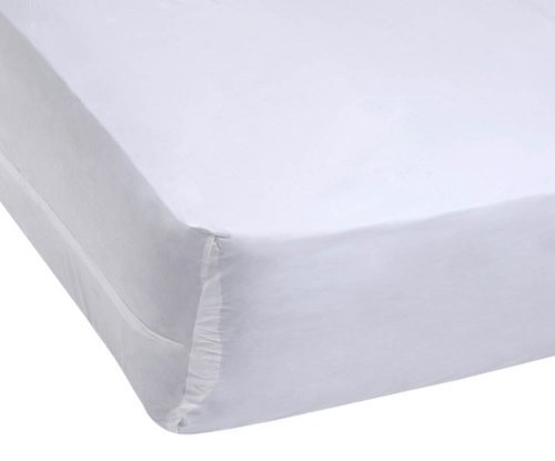 Bargoose Bedding Vinyl Mattress Cover Contour, 6 Gauge, (Vinyl Mattress Protector 6 Gauge)
