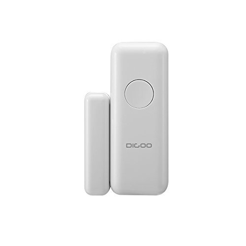 DIGOO DG-HOSA 433MHz Burglar Alarm Sensor, Wireless Windows Doors Sensor, Work with Any 433MHz Home Security Alarm System for Home and Business by DIGOO