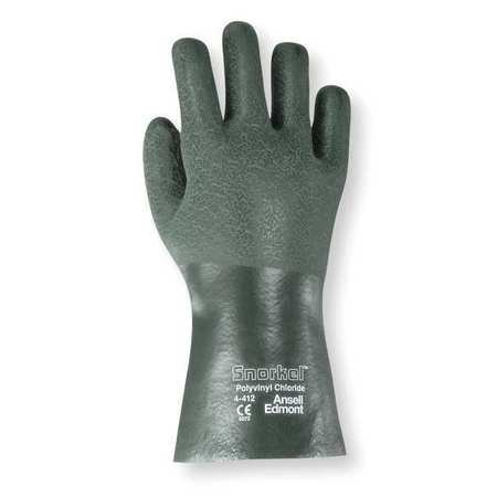 Chemical Resistant Glove, PVC, 12 In, L, PR- Pack of 5
