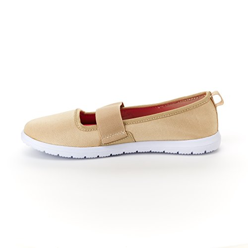 Harborsides Maxy Sneaker - Instapcomfort Comfortabele Sportschoenen, Memory Foam Binnenzool Taupe