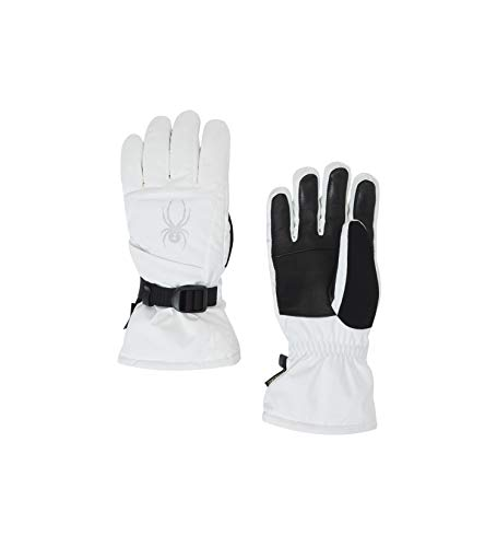 Spyder Women's Synthesis Gore-tex Ski Glove, White/White/White, ()