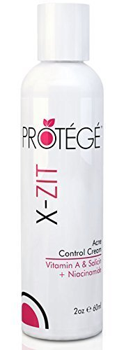 X-ZIT Natural Acne Control Treatment Cream - Best for Controlling Acne - For Teens and Adults - Benzoyl Peroxide-free (2oz)