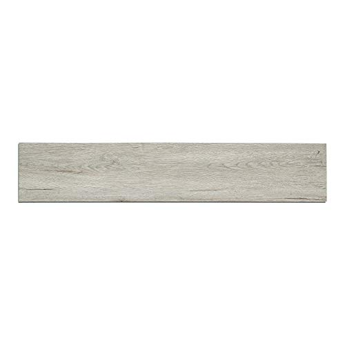 Elegant Vinyl Plank Flooring - Interlocking Floating Planks in Appalachia - 21.42 Square Feet of Flooring Per Carton - from The Ascent Collection by Finesse Floors (Best Commercial Vinyl Plank Flooring)