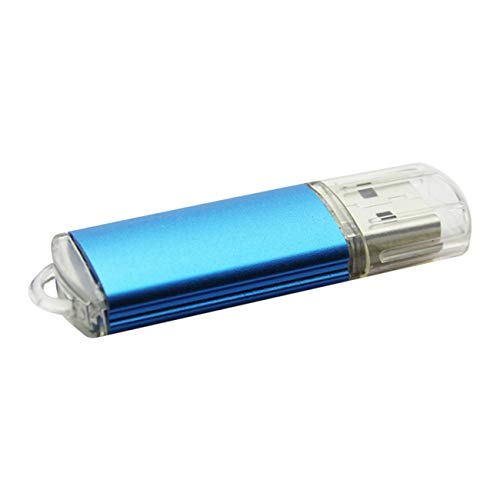 FayOK 1MB USB Flash Drive USB 2.0 Metal Thumb Drives Mini Waterproof Jump Drive Memory Stick