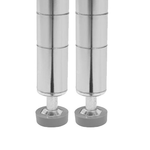 Seville Classics 2-Pack Chrome Shelving  - Shelving Poles Shopping Results