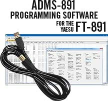 RT Systems ADMS-891 Programming Software and RT-42 USB-A to USB-B Cable for The Yaesu FT-891