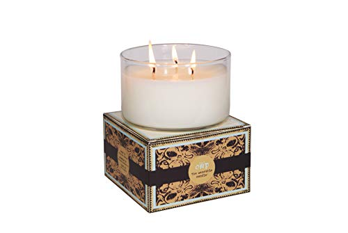 - NEW Large 3 Wick Glass Candle: All Natural and Non-Toxic Coconut Wax Candle, Essential Oils and Aromatherapy Fragrance Blends to Relieve Stress and Help you Relax (Jasmine & Vanilla)
