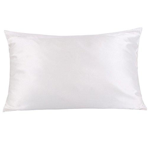 OOSILK Mulberry Silk Pillowcase with Hidden Zipper 19mm ,Cot