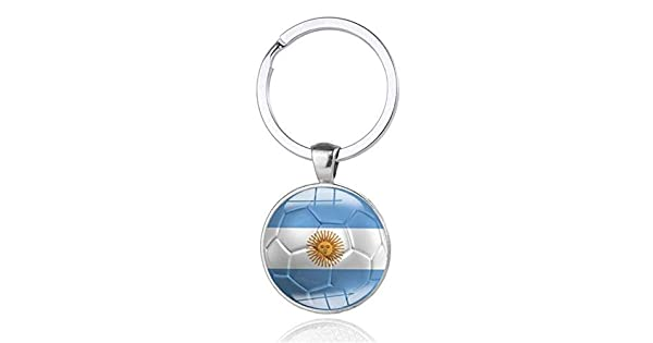 Amazon.com: Llavero de coche con llavero para Argentina ...
