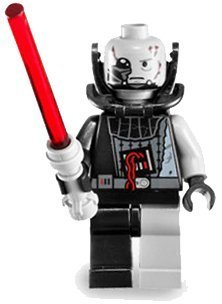 (LEGO Star Wars LOOSE Mini Figure Battle Damaged Darth Vader with Red Lightsaber (Force Unleashed))