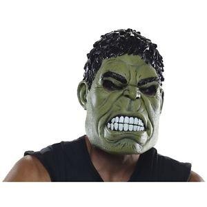 Hulk Mask Adult Marvel Avengers Superhero Costume Halloween Fancy Dress (Fancy Dress Superheroes)