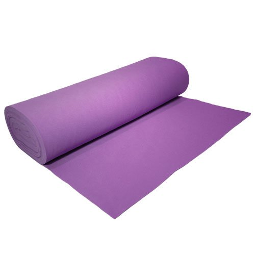 Acrylic Felt by the Yard 72'' Wide X 3 YD Long: Lavender by The Felt Store