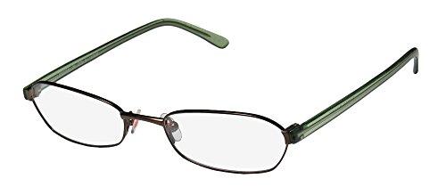 Karen Millen Km0064 Mens/Womens Designer Full-rim Eyeglasses/Eye Glasses (50-17-140, Brown / Green With - Millen Karen Designer