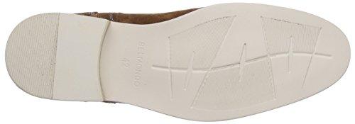 Belmondo 75201501 - Botas de cuero para hombre marrón - Braun (marrone)