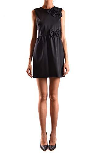 Red Nero Lana Valentino Vestito Donna Qr3va7223sl0no xpqpYFv6