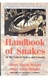 Handbook of Snakes of the United States and Canada: Comstock Classic Handbooks (2 Vol. Set) Albert Hazen Wright and Anna Allen Wright