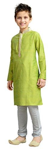 Cellora Churidar Kurta Pajama for 1-14 Years Kids Dupion Silk Party Wear Ethnic Dress by Cellora (Image #2)