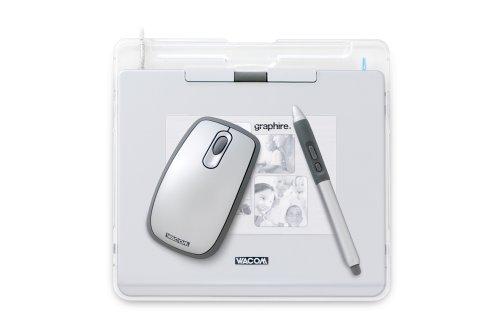 Wacom Graphire4 4x5 Tablet Silver
