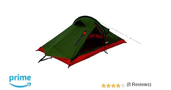 High Peak Siskin Tienda, Rojo (Pesto), 230 x 120 x 90/30 cm: Amazon.es: Deportes y aire libre