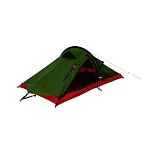 High Peak Unisex's Siskin Tents, Pesto/Red, One Size