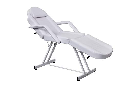 Beauty Style Spa Facial Bed Adjustable Tattoo Bed Salon Massage Bed Waxing and Body Treatment