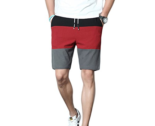 K&S Mens Casual Shorts Workout Fashion Comfy Shorts Summer Breathable Loose Shorts Beach Shorts