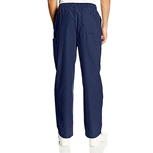 Battercake Deportivos Pantalones De Los Otoño Hombres Algodón Primavera Casuales Cordón Salón Jogging Cómodo Con Blau Navy rAAnxq4dwC