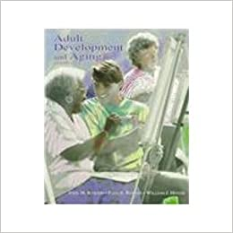Book Adult Development and Aging