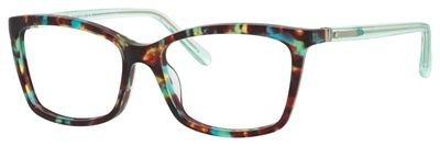 Eyeglasses Kate Spade Cortina 0RRZ Green Havana