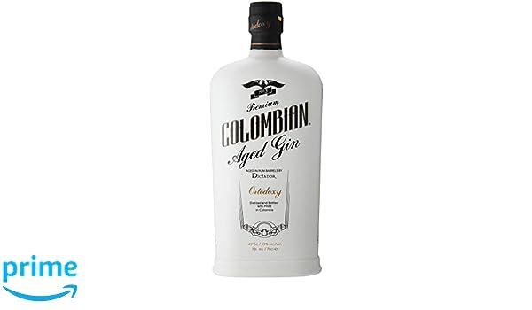 Dictador Colombian Aged Gin White (1 x 0.7 l): Amazon.es: Alimentación y bebidas