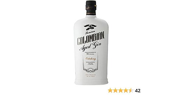 Dictador Colombian Gin Treasure 43%, 1 x 0,7 l