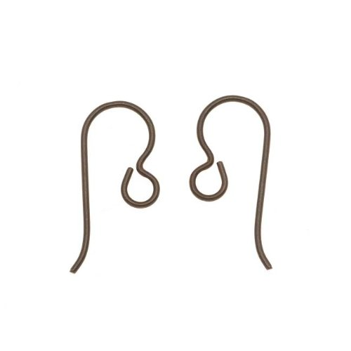 (TierraCast Niobium Copper Earring Hooks Hypo-Allergenic(4)(2 Pair))